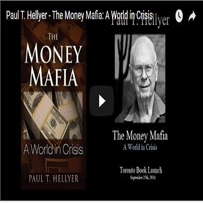 Paul Hellyer's The Money Mafia audiobook coming in 2016